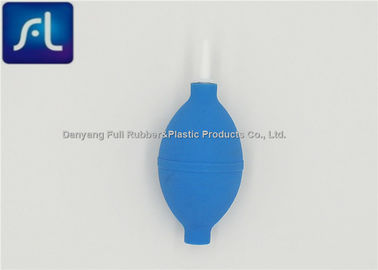 Blue Light Weight Rubber Dusting Bulb Good Elasticity High Performance
